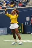 25 2009 cup Rogers Serena Williams Obrazy Royalty Free