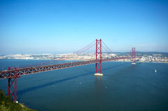 25 Abril bridge Stock Image