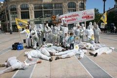 25 anni dopo il disastro nucleare di Tchernobyl Immagini Stock Libere da Diritti