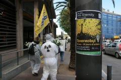 25 ans après le désastre nucléaire de Tchernobyl Images libres de droits