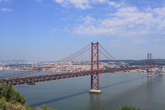 25 de Abril Bridge Royalty Free Stock Photos