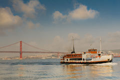 25 de Abril Bridge Royalty Free Stock Images
