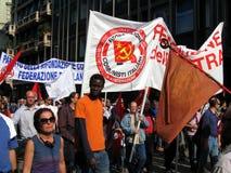 25 de abril, desfile del día de la liberación en Milano. Italia, Imagenes de archivo