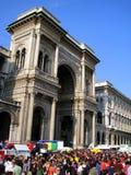 25 de abril, desfile del día de la liberación en Milano. Italia, Fotografía de archivo