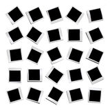 25 different blank photos Stock Image
