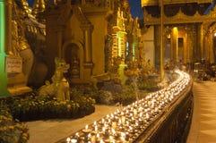 25 Feb festiwalu Myanmar shwedagon Yangon Obrazy Stock