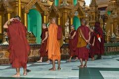 25 Feb festiwalu Myanmar shwedagon Yangon Zdjęcia Stock