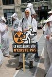 25 jaar na de kernramp van Tchernobyl Stock Afbeeldingen