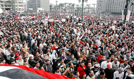 25 Jan Revolution in Egypt Stock Photos