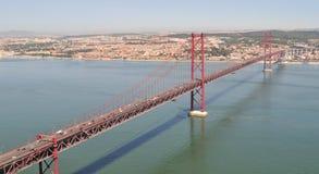 25 Kwietnia most. Zdjęcia Stock