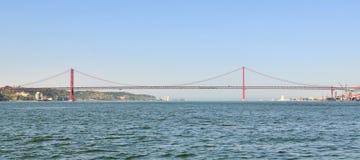 25 Kwietnia most. Zdjęcia Royalty Free