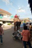 25 maehongson oktober thailand Royaltyfri Bild