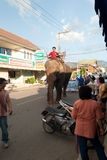 25 maehongson Październik Thailand Obraz Royalty Free