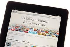 25 miljard nedladdningar Royaltyfri Bild