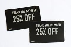 25% Rabatt-Kupon Stockfotografie