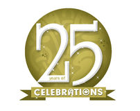 25 rok Zdjęcie Stock