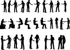 25 uścisków dłoni przedsiębiorstw. Fotografia Stock