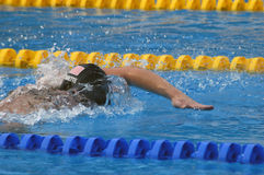 25. Universiade Belgrad 2009 - Schwimmen Stockfotos