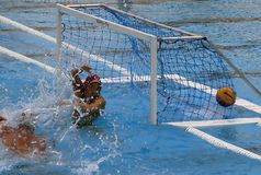 25. Universiade Belgrad 2009 - Waterpolo Lizenzfreie Stockfotografie