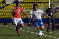 25. UNIVERSIADE - Fußball Lizenzfreies Stockbild