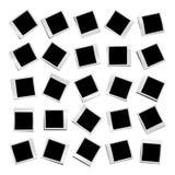 25 verschiedene unbelegte Fotos vektor abbildung