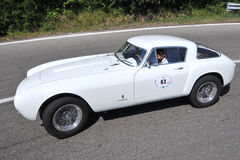 250 2011 Ferrari flaga srebra vernasca Fotografia Stock