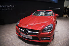 250 blueefficiency Mercedes slk Obrazy Stock