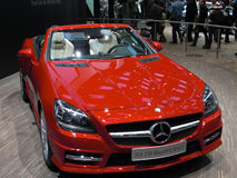 250 blueefficiency Mercedes slk Obraz Royalty Free