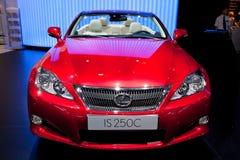 250 c samochodowa lexus czerwień Zdjęcia Royalty Free