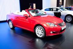 250 c samochodowa lexus czerwień Obraz Royalty Free