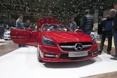250 cdi slk Mercedes Fotografia Stock