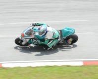 250cc motogp jeździec Obrazy Royalty Free