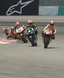 250cc race at 2008 Malaysian Motorcycle GP Sepang stock images