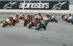 250cc Race At 2008 Malaysian Motorcycle GP Sepang Stock Image
