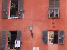 房子红色 库存图片