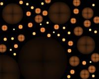抽象按钮发光 免版税库存照片