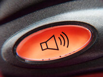 按钮电话 免版税图库摄影