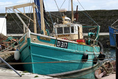 捕鱼拖网渔船 库存图片