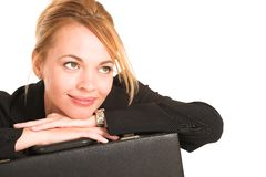 256 bizneswoman Obraz Stock