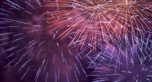 2598 πυροτεχνήματα Στοκ φωτογραφία με δικαίωμα ελεύθερης χρήσης