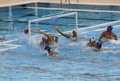 25ste Universiade Belgrado 2009 - Waterpolo Stock Foto's