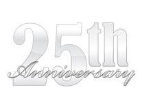 25ste Verjaardag Stock Foto's