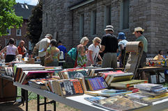 25th annual Great Glebe Garage Sale royalty free stock photo