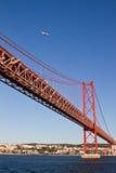 25th Kwiecień bridżowy Lisbon Obraz Stock