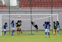 25th soccer universiade Στοκ Εικόνες