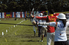 25th UNIVERSIADE - Archery Stock Image