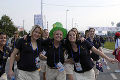 25th Universiade Belgrade 2009-12 Royalty Free Stock Photography