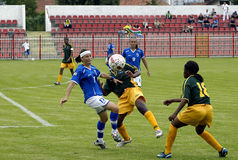 25th UNIVERSIADE - SOCCER  Stock Photography
