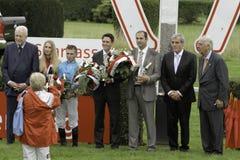 25to Día de la raza de Sparkasse en el sseldorf del ¼ de DÃ, Alemania. Imagenes de archivo