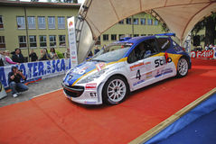 26° RALLY PREALPI OROBICHE Royalty Free Stock Photography